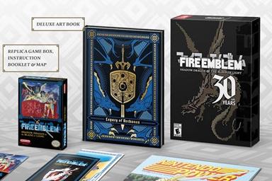 国外玩家分享《火焰纹章》30周年实体限定版开箱视频