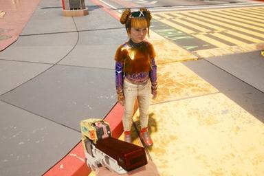 《赛博朋克2077》与《刺客信条:英灵殿》中的小孩NPC模型