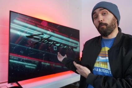 雅达利VCS主机上的《赛博朋克2077》表现糟糕