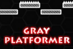 灰色平臺跳躍