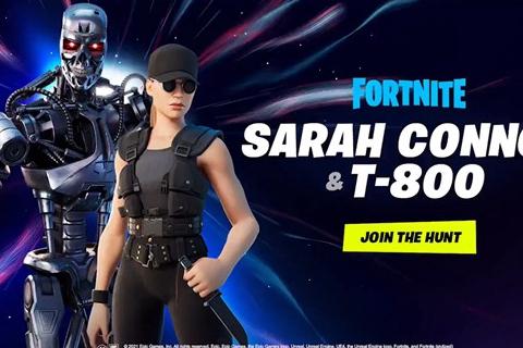 《堡垒之夜》联动《终结者》推出T-800/莎拉皮肤