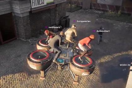 《看门狗:军团》线上模式实机试玩视频发布