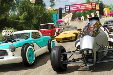 《极限竞速:地平线4》风火轮车辆包现已上线