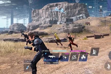 SE公布多人射击类手游新作《最终幻想7:一等兵》