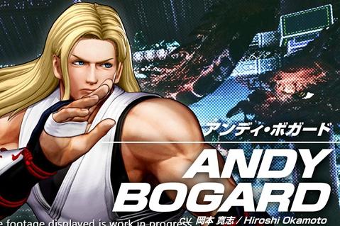 """《拳皇15》角色""""安迪·博加德 """"宣传影像放出"""