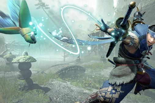 英国游戏实体销量周榜:《怪物猎人:崛起》第一