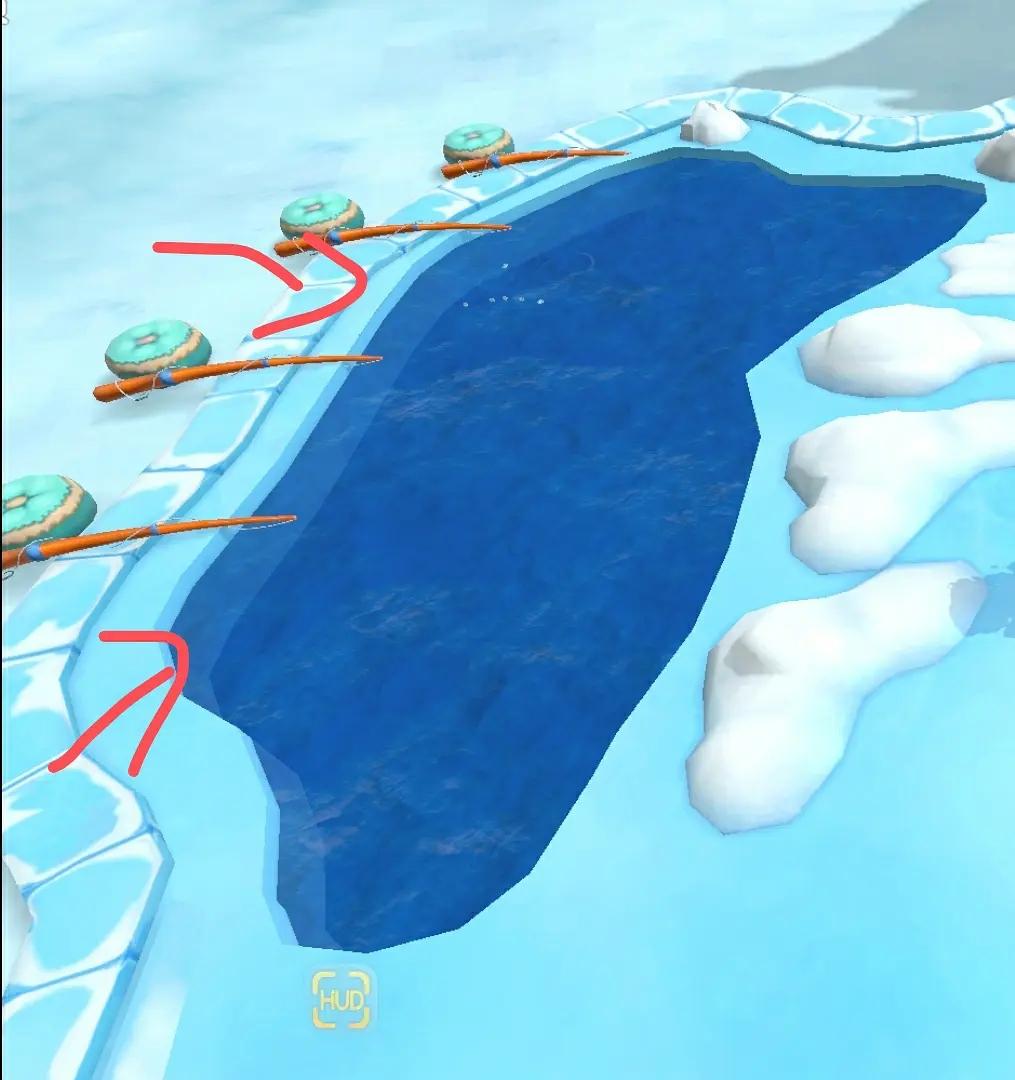 摩尔庄园手游冰川红虾在哪钓 冰川红虾钓取位置推荐 游戏攻略 第1张