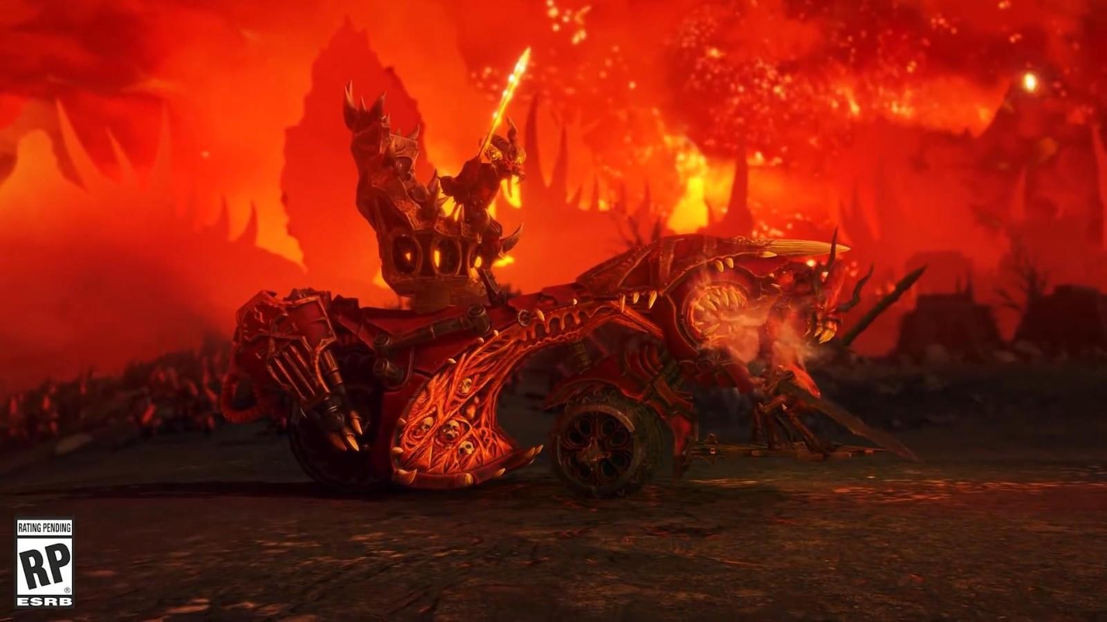 《全面战争:战锤 3》新预告 血肉猎犬和鲜血王座登场 游戏资讯 第1张