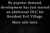《生化危机:村庄》扩展内容确定开发中 详情日后公布
