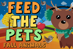 Feed the Pets Fall Animals