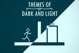 以暗与光为主题
