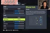 FIFA 22 4222阵型推荐 战术板指令分享