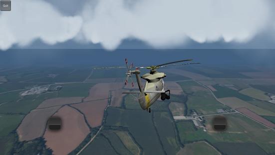 《直升机飞行模拟器 Helicopter Flight Sim 》是一款简单的模拟飞行游戏。拥有6架独特的直升机可以自由地飞来飞去。逼真的地形环境,不同的驾驶体验与独特的引擎轰鸣,还有一个云系统,它可以让你飞得高,在云层之上!尝试直升机飞行模拟器,如同现实生活中驾驶直升机。